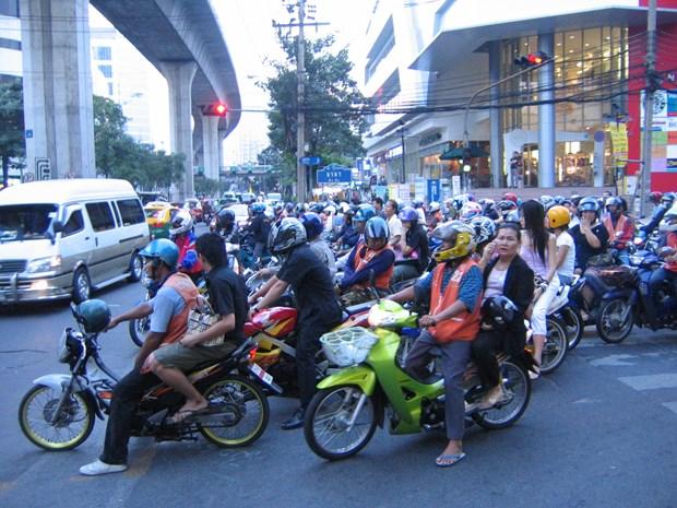 2019年泰国摩托车市场销量预计将下降 hinh anh 1