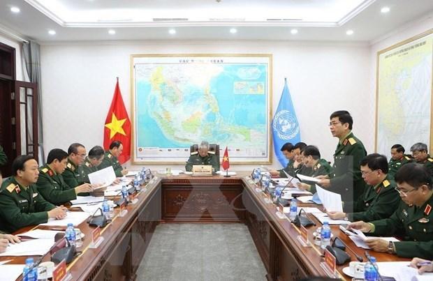 越南为二号二级野战医院做出积极准备 hinh anh 2
