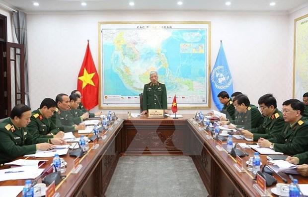 越南为二号二级野战医院做出积极准备 hinh anh 1