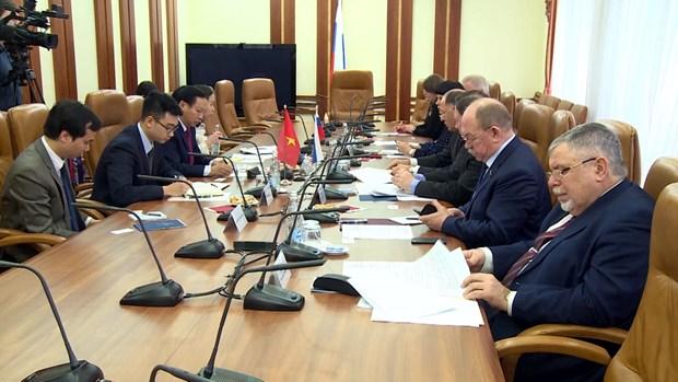 越南与俄联邦议会友好议员小组加强配合 hinh anh 1