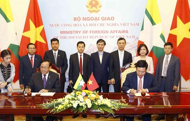 越缅双边合作混合委员会召开第9次会议 hinh anh 3