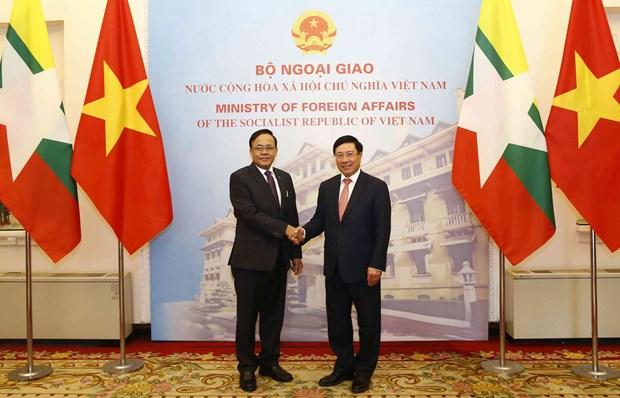 越缅双边合作混合委员会召开第9次会议 hinh anh 2
