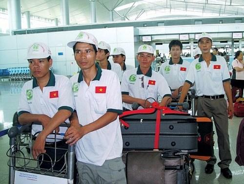 2019年前2个月越南劳务输出人数达逾1.8万人 hinh anh 1