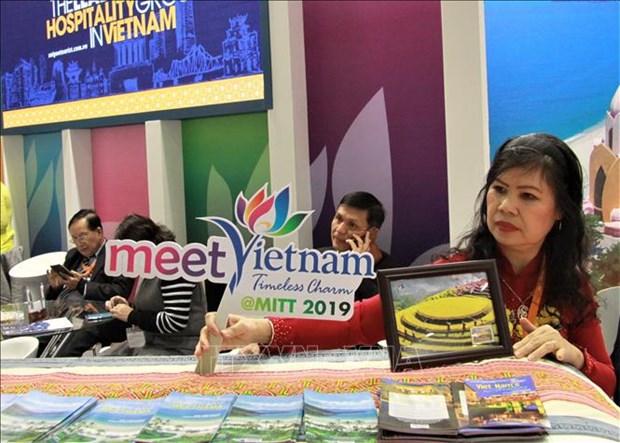 越南参加俄罗斯莫斯科旅游展览会MITT 2019 hinh anh 2