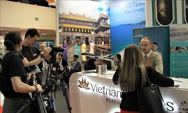 越南参加俄罗斯莫斯科旅游展览会MITT 2019 hinh anh 1