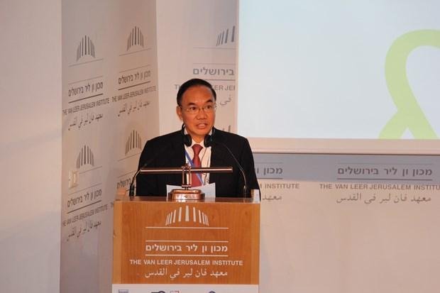 最高审计机关亚洲组织和欧洲国家最高审计机关举行第三届联合会议 hinh anh 1