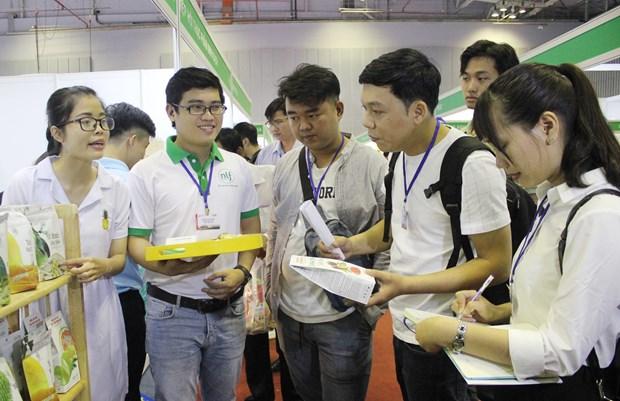 2019越南国际果蔬及花卉园艺展览会开幕 hinh anh 2