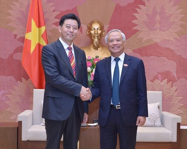中国人民争取和平与裁军协会代表团对越南进行工作访问 hinh anh 1