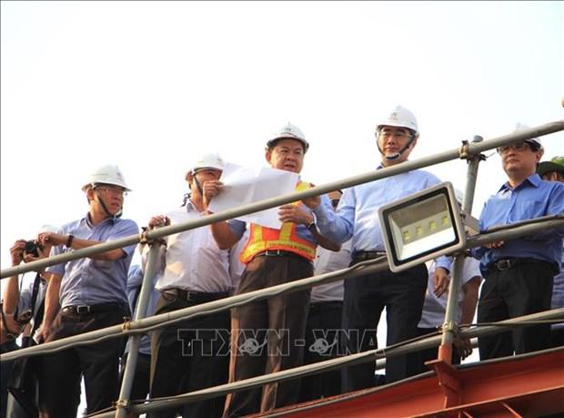 胡志明市总额10万亿越盾的防涝项目将于今年底竣工投运 hinh anh 1