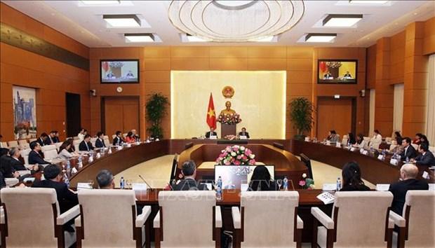 国会副主席冯国显会见美国-东盟商务委员会代表团 hinh anh 1
