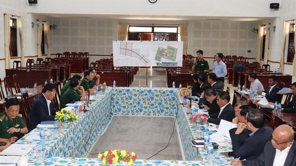 越南将安江省庆平口岸升级为国际口岸 hinh anh 1