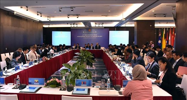 东盟地区论坛海洋安全中期工作组第十一次会议在岘港市开幕 hinh anh 1