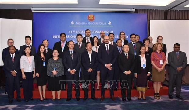 东盟地区论坛海洋安全中期工作组第十一次会议在岘港市开幕 hinh anh 2