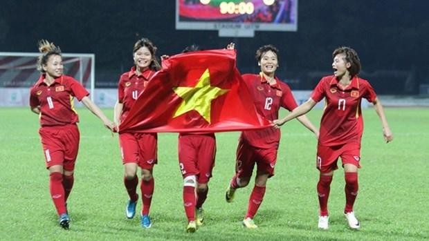 2020年东京奥运会女子足球比赛亚洲区资格赛: 越南女足队将与缅甸队进行两场热身赛 hinh anh 1