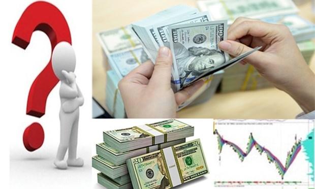 3月14日越盾兑美元中心汇率上涨5越盾 hinh anh 1