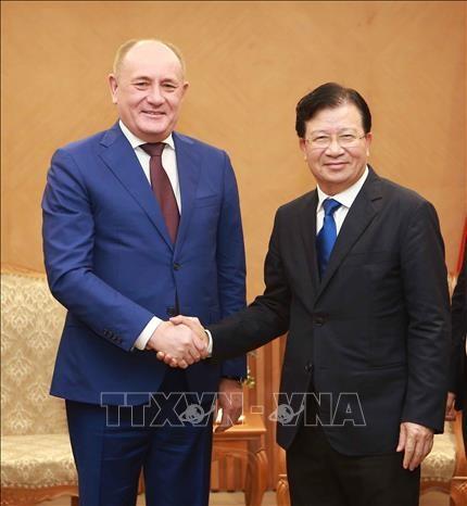 越南政府鼓励俄罗斯企业加大对越投资 hinh anh 1