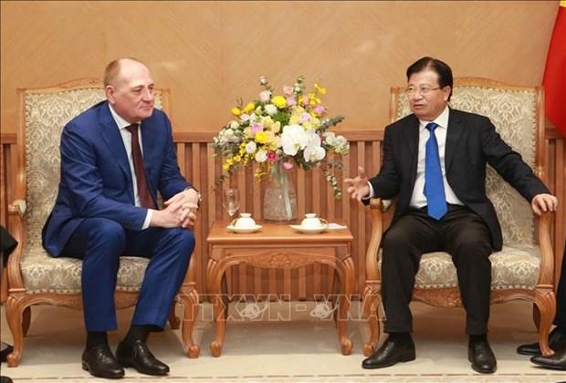 越南政府鼓励俄罗斯企业加大对越投资 hinh anh 2