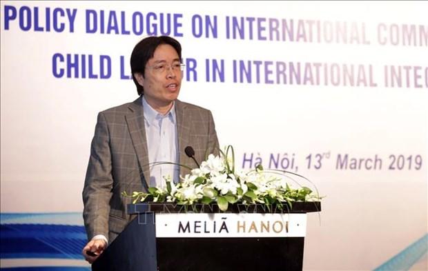 越南在履行国际贸易承诺的背景下就童工问题进行对话 hinh anh 2