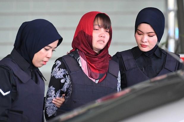 段氏香朝鲜公民被杀案庭审将推迟至4月1日 hinh anh 1