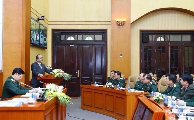 阮春福总理:严厉打击国防用地管理使用中的违规行为 hinh anh 1