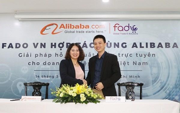 援助越南中小型企业实现在线出口 hinh anh 1