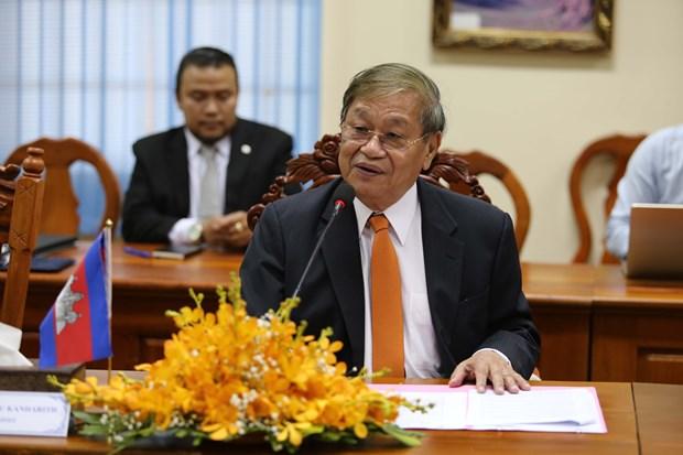 越南与柬埔寨加强信息与传媒领域的务实合作 hinh anh 3
