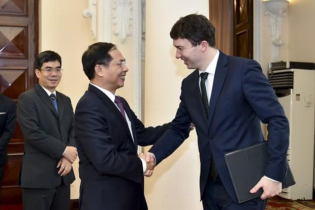 越捷两国举行副外长级政治磋商 hinh anh 2