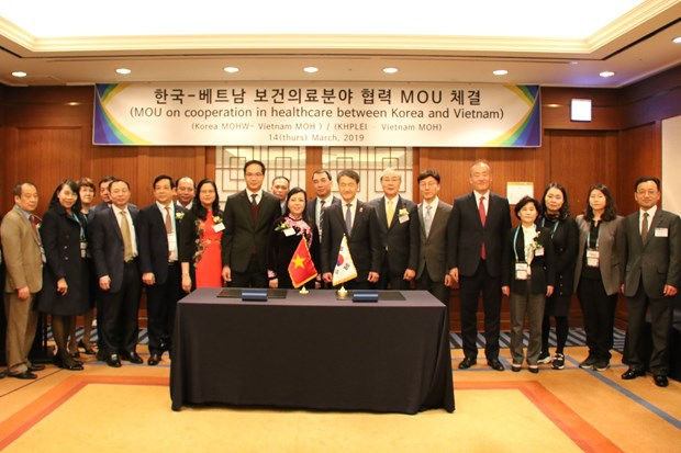 越南与韩国加强医疗卫生领域合作 hinh anh 2