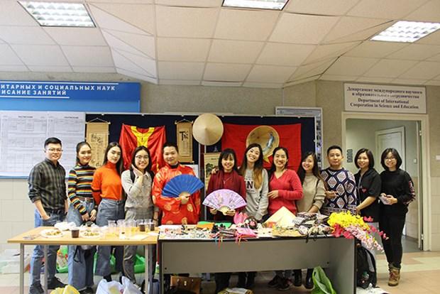 在俄罗斯人民友谊大学举行的越南文化周落下帷幕 hinh anh 2