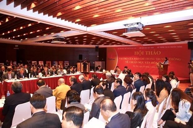 武德儋副总理:新闻媒体在宣传文化行为规范中扮演着重要角色 hinh anh 2