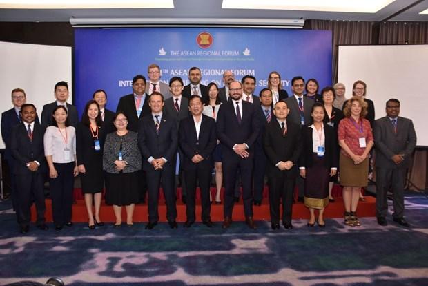 东盟地区论坛海洋安全中期工作组第十一次会议圆满结束 hinh anh 2
