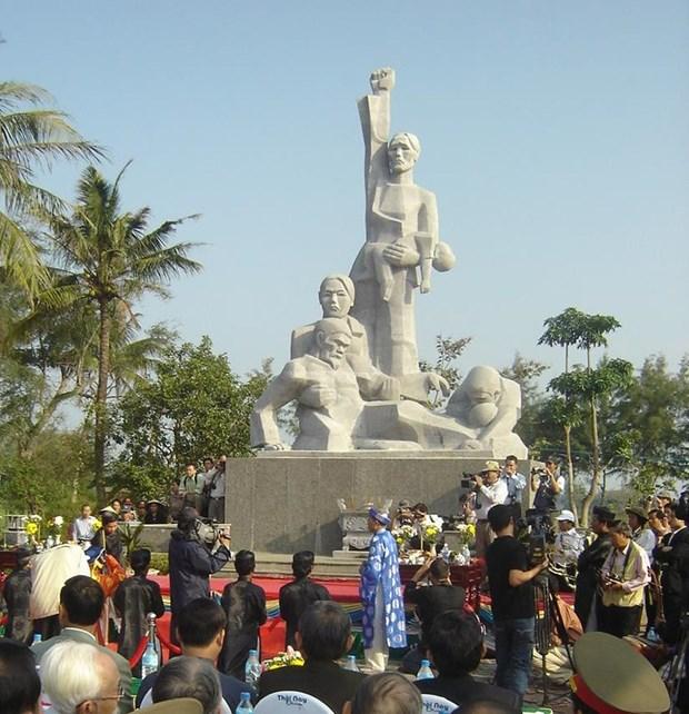 广义省举行山美大屠杀51周年纪念仪式 hinh anh 1