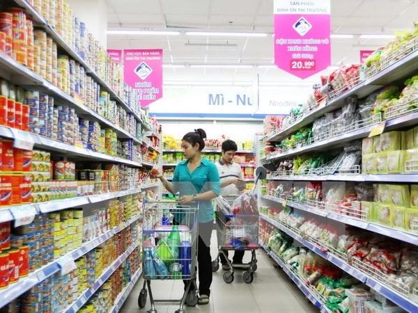 前2月胡志明市商品零售总额和消费服务收入增长12% hinh anh 1
