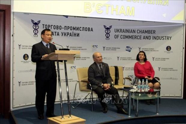 越南驻乌克兰大使馆推广越南旅游潜力 hinh anh 1
