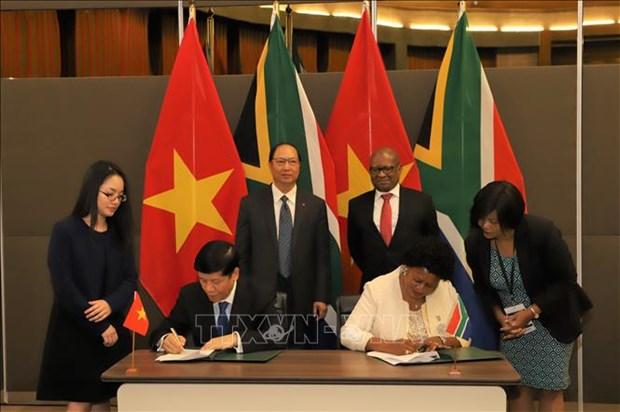 南非媒体:南非和越南应继续推动两国贸易关系务实发展 hinh anh 1