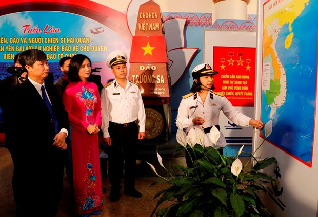 越南海洋岛屿:激发干部、党员和人民爱祖国海洋岛屿的感情 hinh anh 2