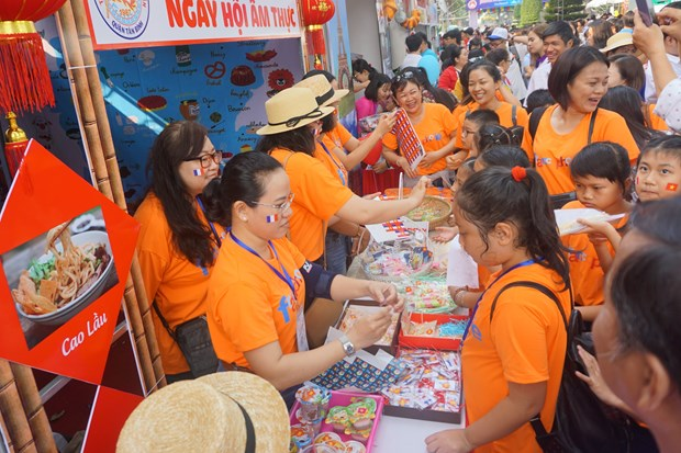 胡志明市举办多项活动庆祝国际法语日 hinh anh 1