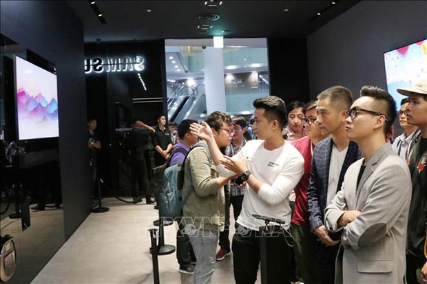 三星在胡志明市开设首个品牌体验空间 hinh anh 1