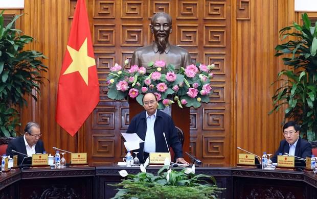 越南政府总理阮春福: 行动果断高效 增强人民和企业的信心 hinh anh 1
