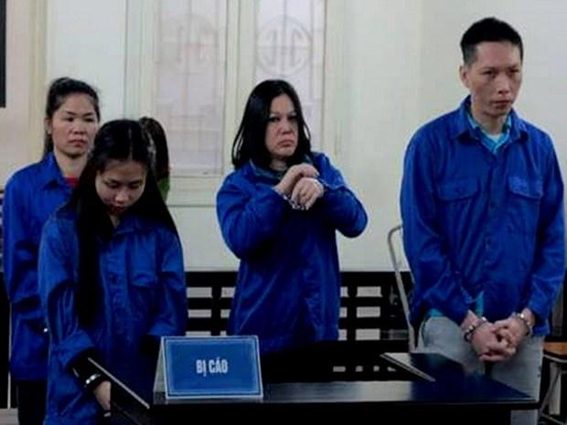 越南公安破获一起航空托运毒品案 三人被判死刑 hinh anh 1