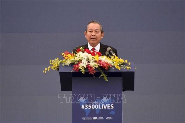 越南承诺实施联合国减少道路交通事故目标 hinh anh 2