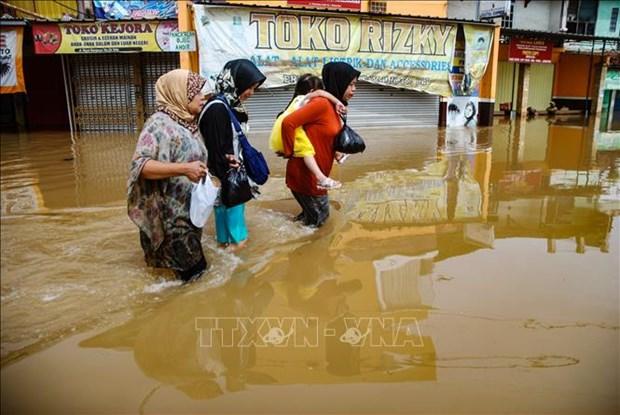 印尼洪灾伤亡严重 灾区进入紧急状态 hinh anh 2