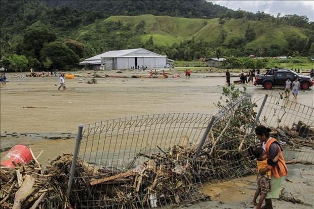 印尼因洪水和山体滑坡死亡人数已增至89人 hinh anh 1