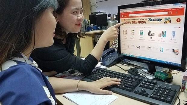 2020年越南电商营收额可达150亿美元 hinh anh 1