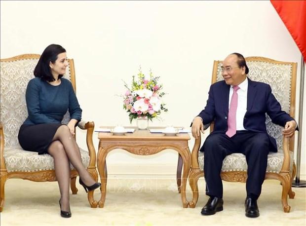 越南政府总理会见保加利亚和乌拉圭两国新任驻越大使 hinh anh 1
