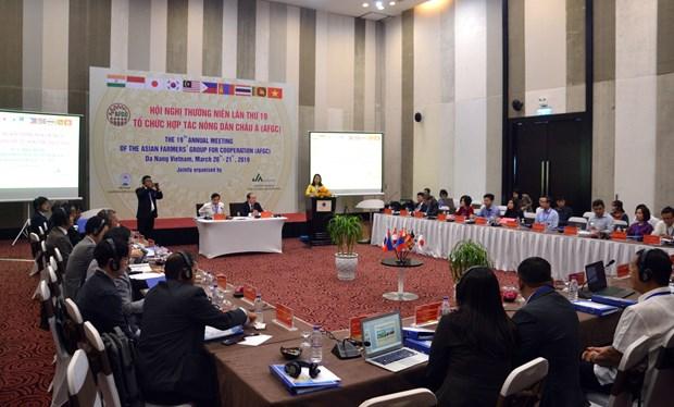 亚洲农民合作组织在岘港市召开第19届年会 hinh anh 1