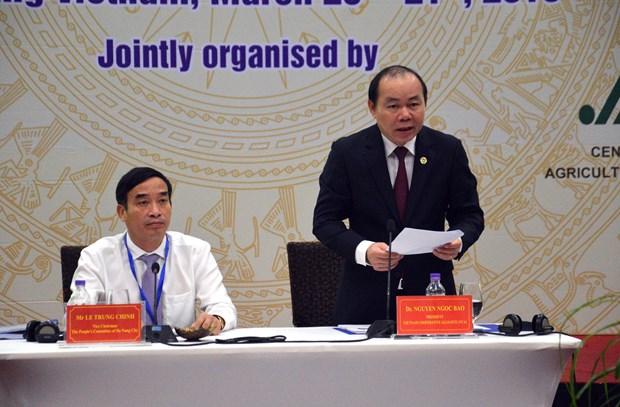 亚洲农民合作组织在岘港市召开第19届年会 hinh anh 2