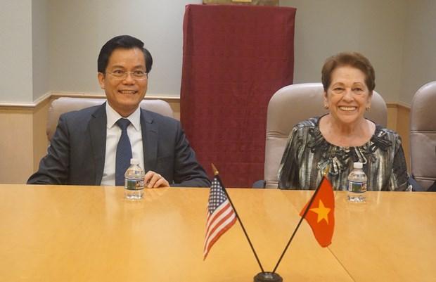 越南与美国合作努力抚平战争伤痕 hinh anh 2