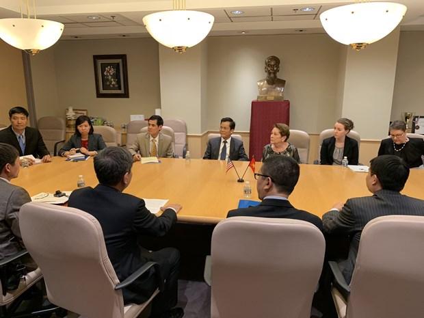 越南与美国合作努力抚平战争伤痕 hinh anh 1
