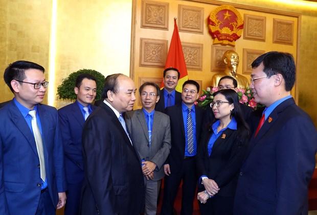 阮春福总理:新时期为青年树立新标杆 hinh anh 1